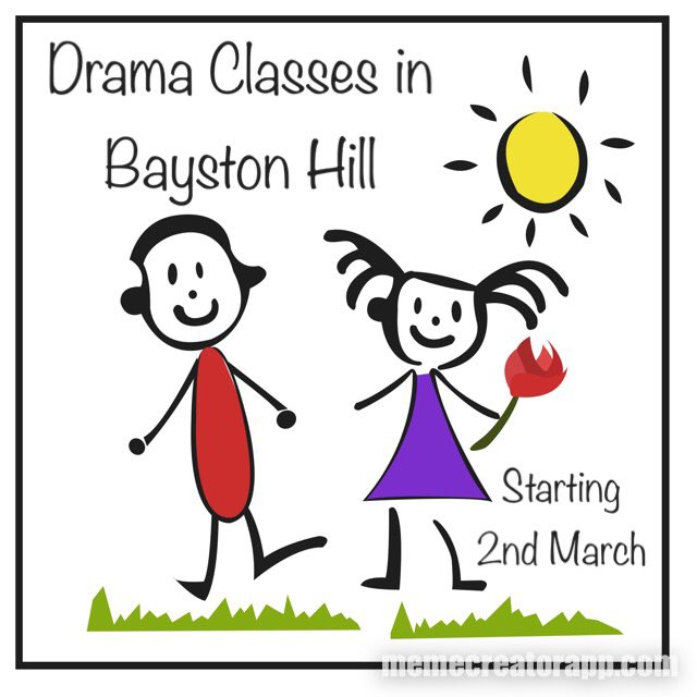 test Twitter Media - We're coming to #BaystonHill! Classes starting 2nd March. Who's joining us? #drama #dramaforchildren #dramaclasses   @bhjubilations @BaystonHillMeth @BaystonHillNet https://t.co/HBEdGDTaDQ