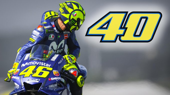 Happy 40th Birthday Valentino Rossi!