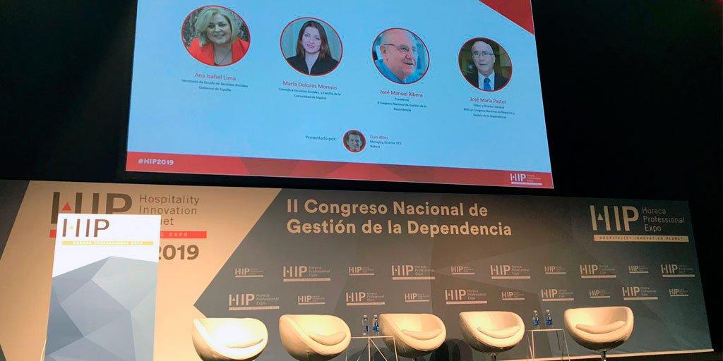 test Twitter Media - Hoy participamos en el II Congreso Nacional de Gestión de la Dependencia, en IFEMA @expohip  a las 17:30h, tratando la situación de la negociación colectiva con @cea_ps, LARES y ASADE, @UGT_Comunica, @CCOO, CEES.   #AESTEcuida #PersonasMayores https://t.co/EfhspwBX89