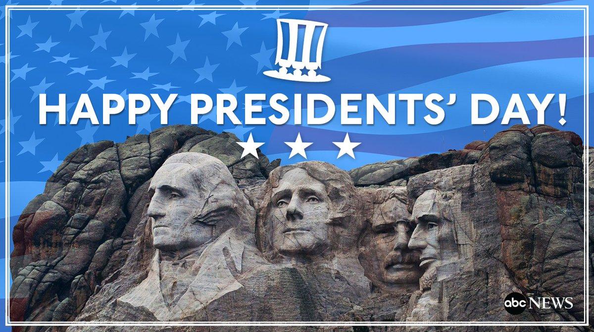 Happy #PresidentsDay from all of us here at @ABC News! https://t.co/Iv6vIIRybK https://t.co/7Ut99sxWOq