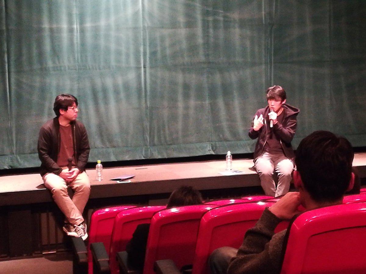 test ツイッターメディア - 監督の加瀬澤です。夜9時の上映後、松江哲明監督とのトークでした。この映画を制作するきっかけとなった、佐藤真さんが亡くなってしまったことや、個人の思いで作ったものが映画として、誰かに届いていく経験の豊かさについて話しました。松江君と話せて良かった。遅くまでありがとうございます! https://t.co/YB1IQaRlqG