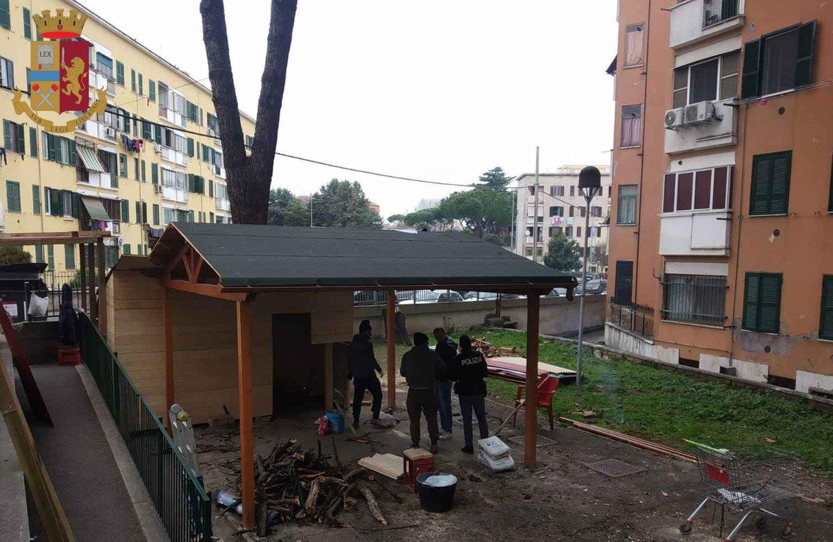 test Twitter Media - #SanBasilio. Rimosse strutture #abusive realizzate in uno stabile di via Corinaldo per facilitare l'attività di #spaccio.https://t.co/cOzXBgcM1w https://t.co/3NkgTxp4SW
