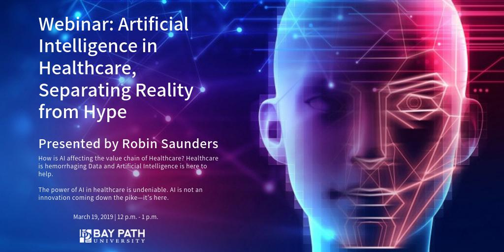 test Twitter Media - #ArtificialIntelligence is not an innovation coming down the pike - it's here. Learn how AI is impacting healthcare in our free webinar: Artificial Intelligence in Healthcare, Separating Reality from Hype. https://t.co/jJev2ajUhZ  #professionaldevelopment #WesternMass #Webinar https://t.co/gEXYWsKhB8