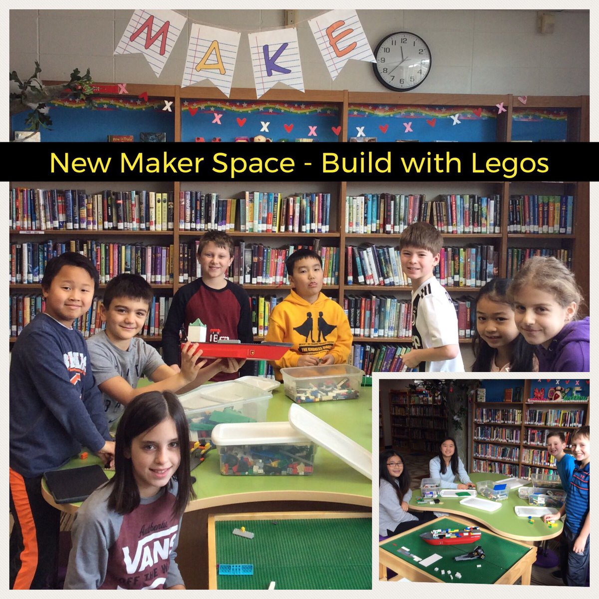 test Twitter Media - Students are enjoying our building with Legos Maker Space!  #d30learns @Wescott3A @Sislow3S @jlosoff @Wescott3G @Wescott4S @Wescott4M https://t.co/q33egj6THq