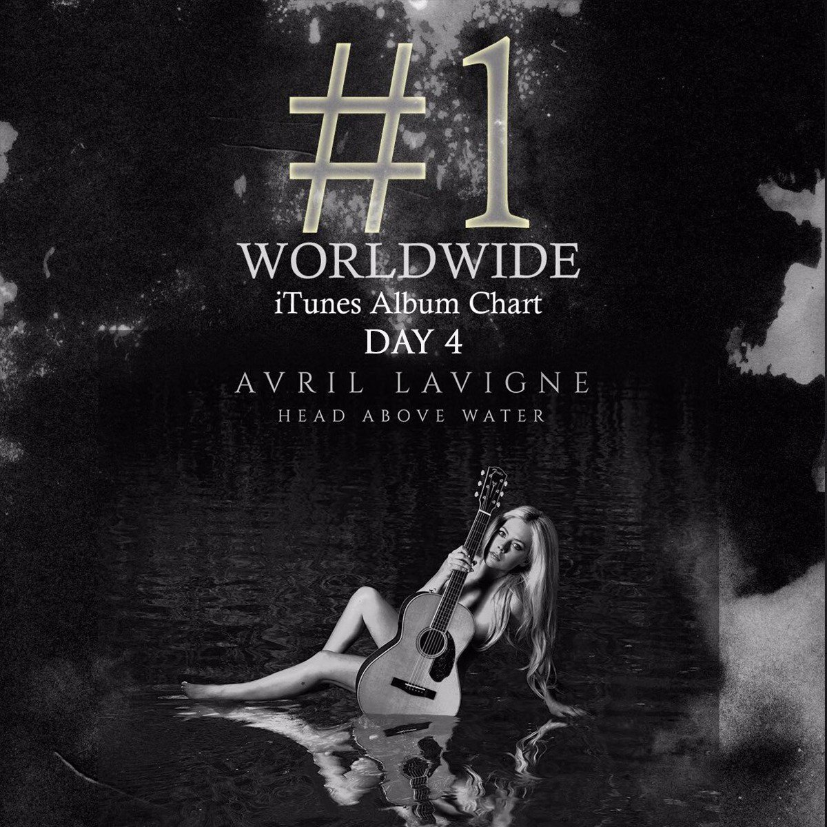 Day 4 and still the top-selling album worldwide on iTunes. Thank you to the best fans in the world : ) https://t.co/xNIW4bFOhn