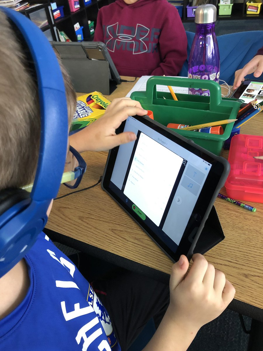 test Twitter Media - 2nd graders in @mrspalzet created some awesome book trailers in the Shadow Puppet Edu app! #d30learns https://t.co/KCUWYOpKar