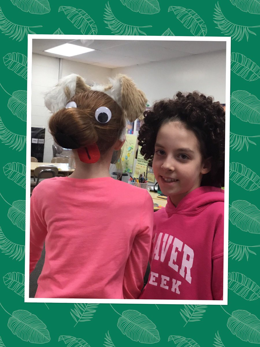 "test Twitter Media - Tweeted by Elisha: ""Crazy Hair Monday!"" #spiritweek #d30learns https://t.co/R1A1hLIT3h"