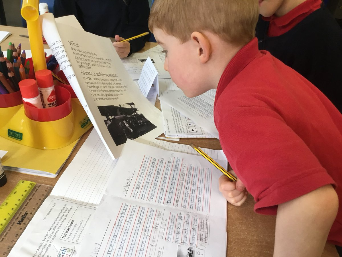 test Twitter Media - Loved how much the children enjoyed their writing sequence using all the facts they learnt about Amelia Earhart to provide information for the reader #gorseyenglish #gorseyhistory @GorseyY1 ✍️✈️🤩 https://t.co/JHfWp7lUSv