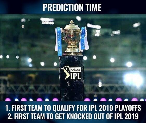 Prediction time!!!!! #IPL #indianpremierleague...