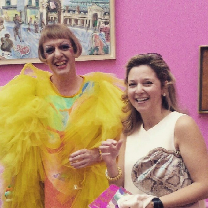 Happy Birthday to / Grayson Perry who was in 1960.