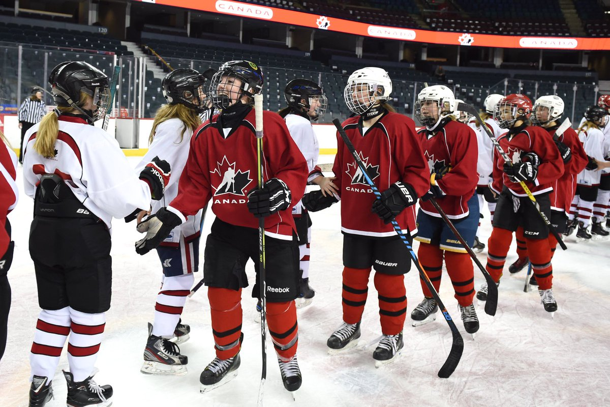 test Twitter Media - Last weekend, 4️⃣0️⃣ ice hockey federations around the 🌎 took part in the 4th annual #GlobalGirlsGame.  For 40 Bantam-aged girls from across Canada, it was a weekend of budding friendships, building community and broadening borders — all in the name of growing the women's game. https://t.co/SwVdEIU3MI