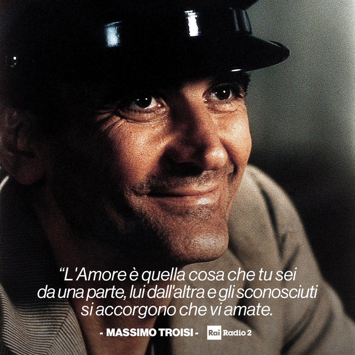 #MassimoTroisi