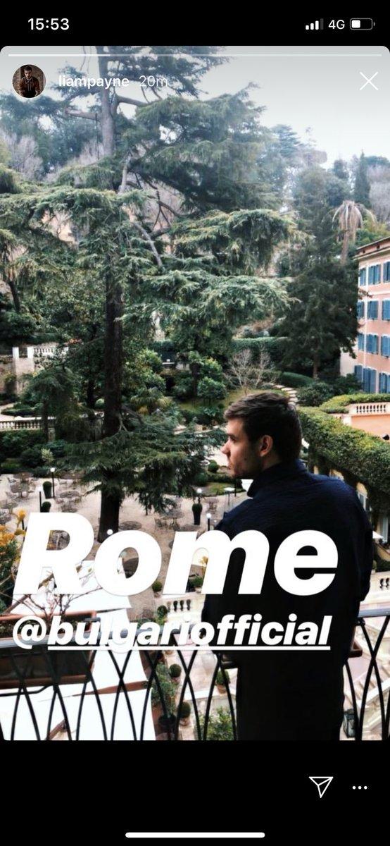Liam a Roma