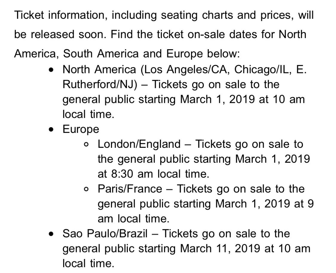 RT @ikran: tickets for BTS' tour go on sale literally next week Friday for Europe and the US #SPEAK_YOURSELF https://t.co/fEn9N1Q4aW