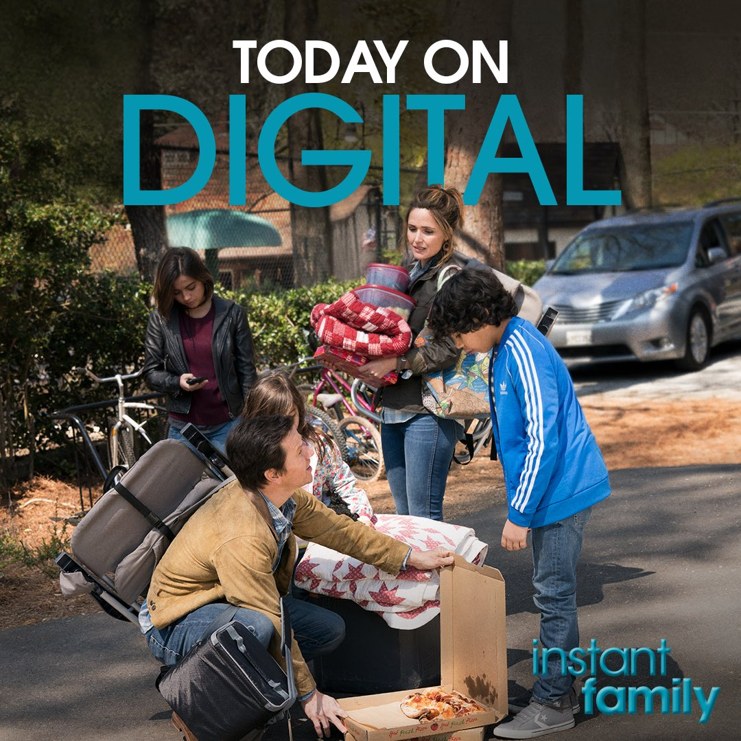 Watch @instantfamily now on Digital! And get it on Blu-ray March 5th. Go to https://t.co/mGSTx6ONgb https://t.co/DXStwuqsAz