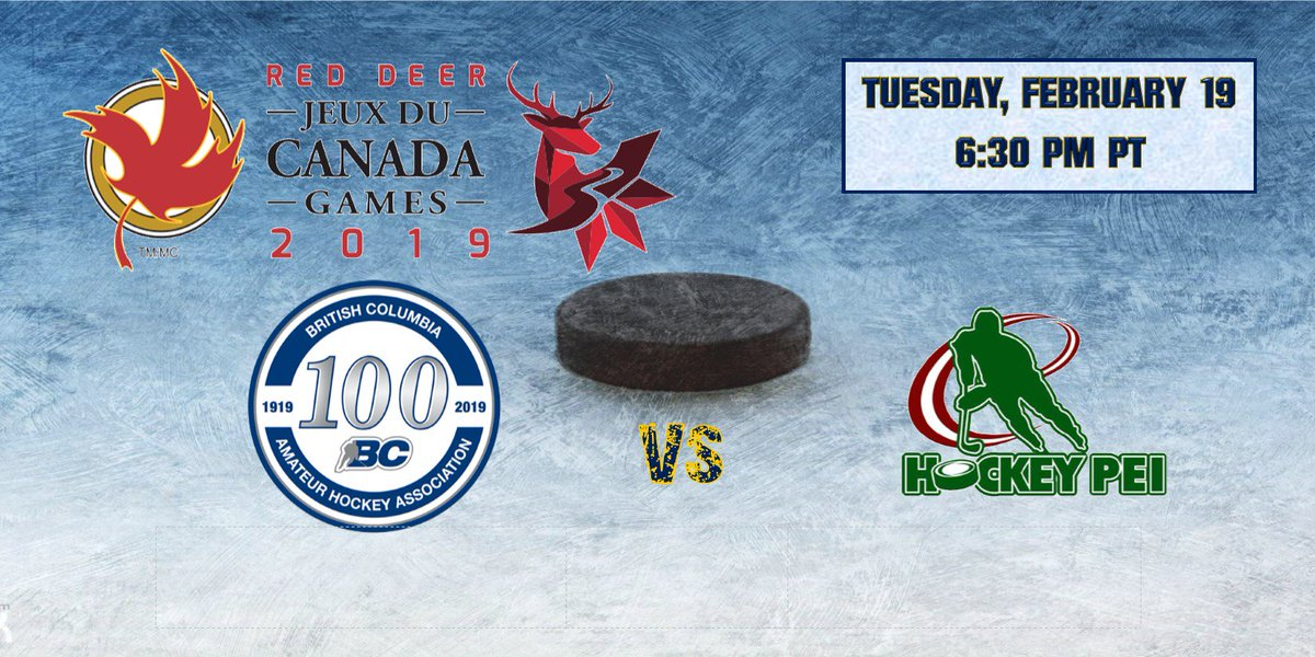 test Twitter Media - .@BCHockey_MU16BC played in three one-goal games in round-robin action at the @2019CanadaGames finishing 1-2. They will play @HockeyPEI tonight at 6:30pm PT in qualification action in Red Deer.  Webcast: https://t.co/ZxrH8mOXox  Follow @BCHockey_MU16BC for live scoring.  #WeAreBC https://t.co/jRaqmHSoUg