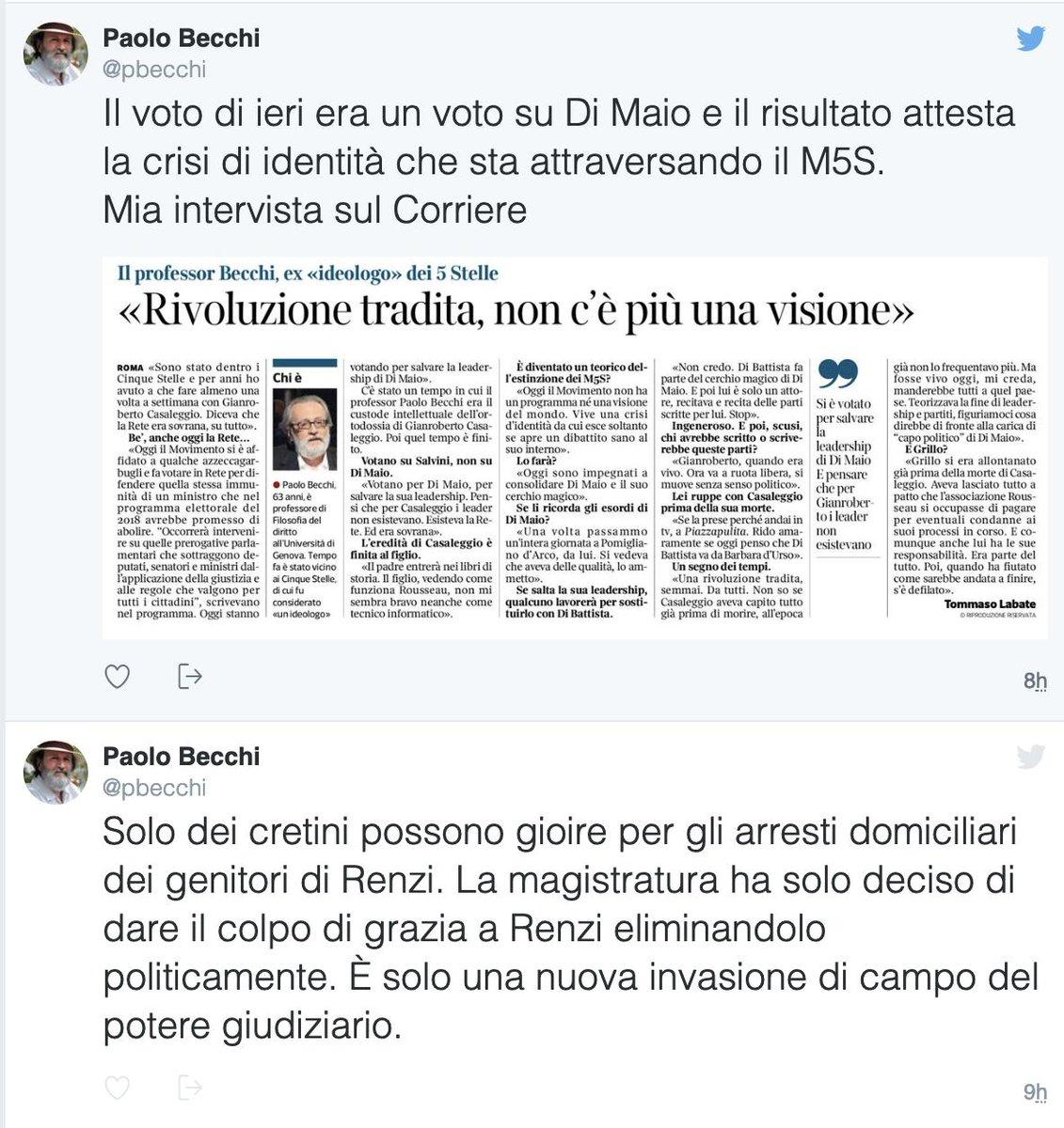 #TizianoRenzi