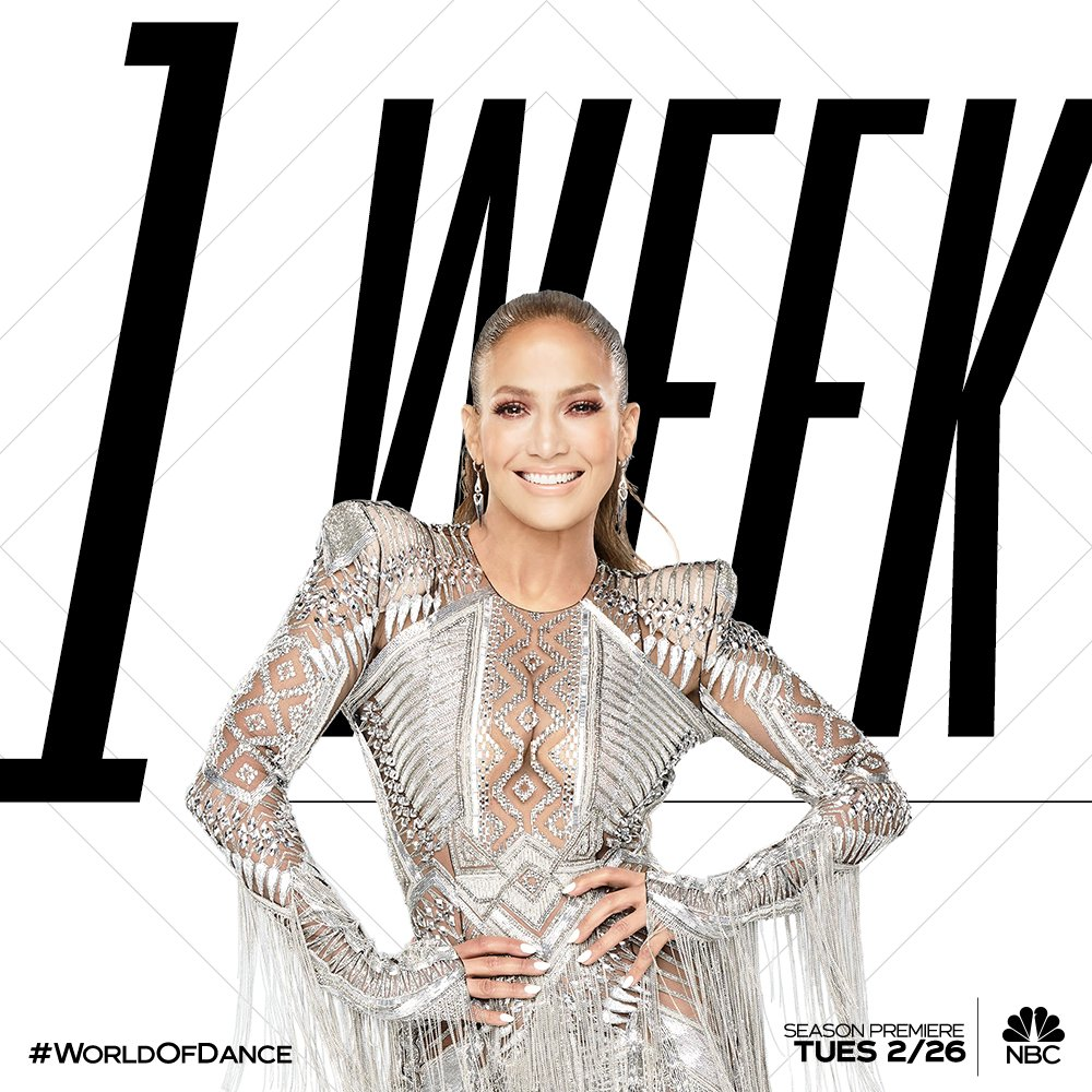 The biggest dance competition in the world is BACK in ONE WEEK!!!! ???????????????? You ready?!?! @NBCWorldofDance https://t.co/JEpptseMLg