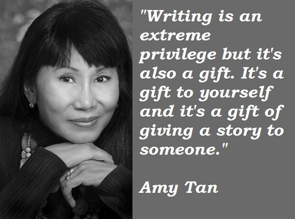 Happy birthday to author Amy Tan!