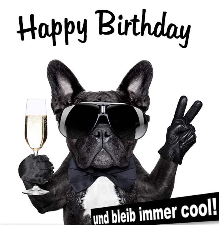 @maier869 Alles Gute zum Geburtstag und lass Dich noch ordentlich feiern 🥳 🤘😘 https://t.co/cZwzk7SuZq
