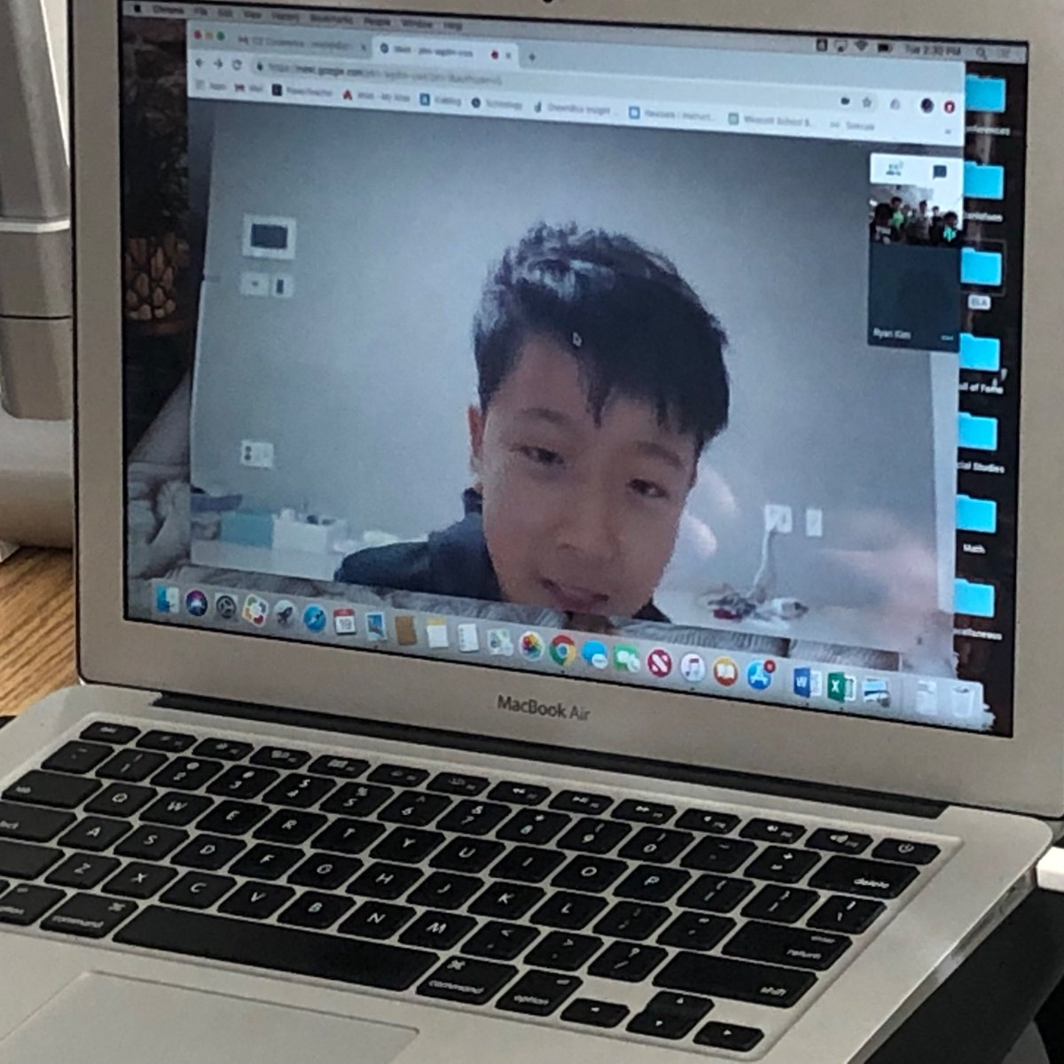 test Twitter Media - Video chatting on @google with Ryan in Korea! #d30learns https://t.co/ygNDqHaZsr
