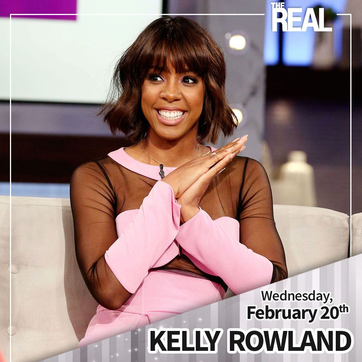 RT @TheRealDaytime: We can't wait to see you TOMORROW, @KellyRowland!! ???? https://t.co/mplCBq8cwP