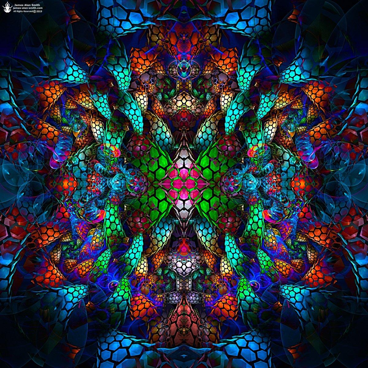 Uplifted Spirit: A new meditation abstraction I finished today... #art #digitalart #abstractart #meditation https://t.co/6qXMlEp484
