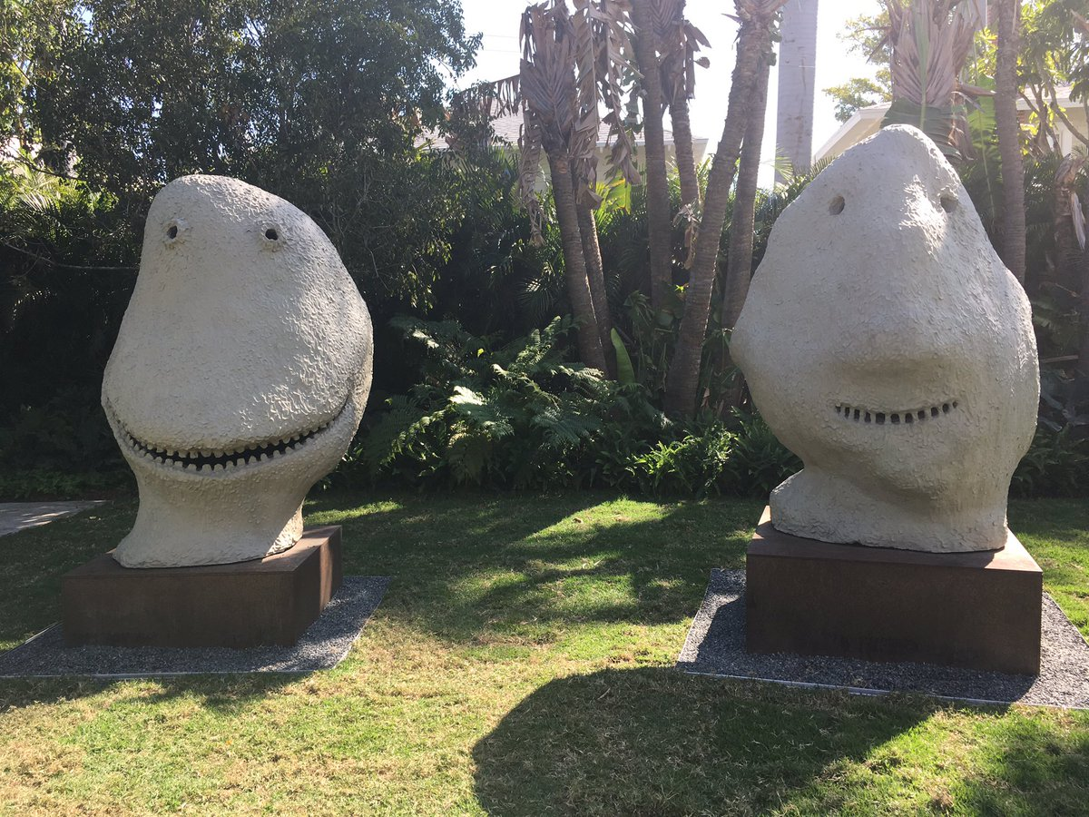 test Twitter Media - Where does inspiration come from? Wherever I go, I look for fantasy and magical creations. Discovered these guys, called MOONRISE.east by Ugo Rondinone, in the courtyard of the Norton Museum of Art.   Don't you think they have a great story to tell? #writingcommunity #fantasyfan https://t.co/F3jADgI2lp