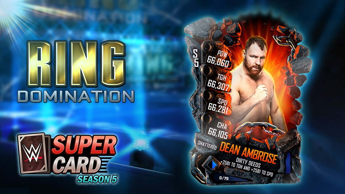 test Twitter Media - This week's event is a Ring Domination featuring Dean Ambrose. We're celebrating his coolest rivalries and closest friends as the undercards this week and also next. https://t.co/kYwswGEex7
