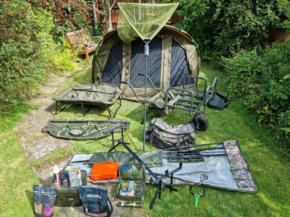 Ad - Full carp fishing set up for sale On eBay here -->> https://t.co/FQ4C3UCuah  #carpfishing