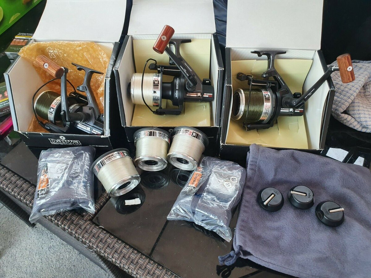 Ad - Daiwa Tournament SS3000 old skool reels On eBay here -->> https://t.co/L3AQyAO5DO  #carpf