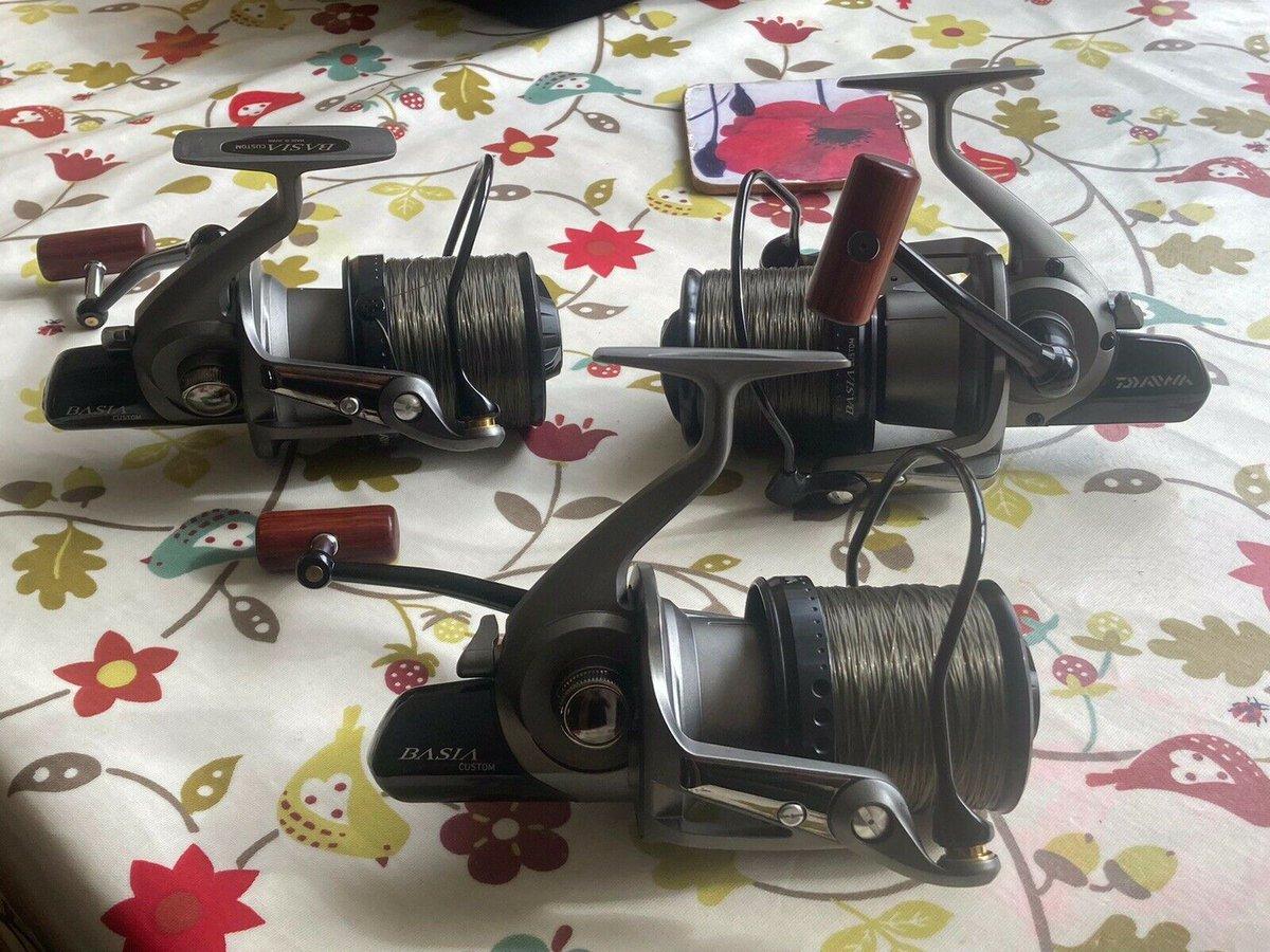 Ad - Daiwa Basia Custom x3 On eBay here -->> https://t.co/1eUB4TRBz3  #carpfishing #fishingtac
