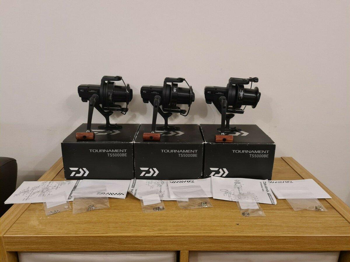 Ad - 3x Daiwa Tournament TS5000TBE On eBay here -->> https://t.co/l6mLWWHon1  #carpfishing #fi