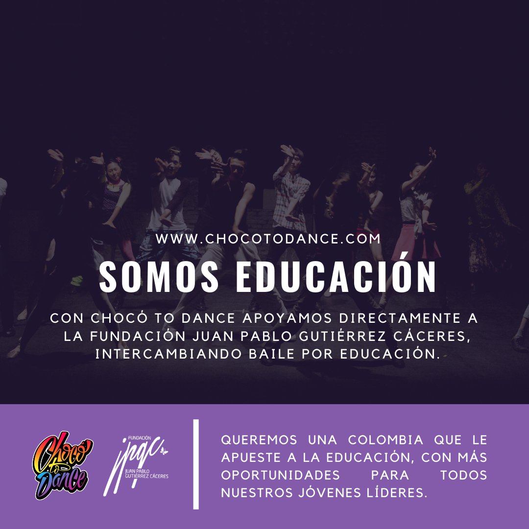 test Twitter Media - Nacimos desde 2017 como un proyecto de la @FundacionJPGC , que busca fondos para becas de estudiantes de nuestra región.Ayudarnos a crecer es muy fácil y divertido al ritmo de #Reggaeton, #Champeta, #Salsa y #Choke.Aprende a bailar en: https://t.co/BSLHSwN86m https://t.co/ndigLFjU1x