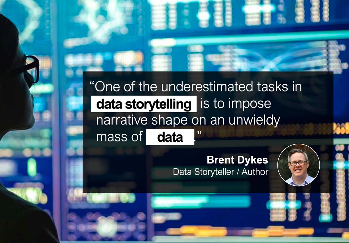 yoliworth: Data itself does not tell us anything. Are you up for storytelling? @analyticshero #AdobeSummit https://t.co/3lFsINYIKE