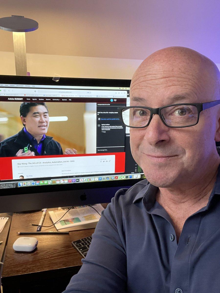 Markjeffries1: My POV - watching my good friend @rwang0 #AdobeSummit https://t.co/pCAIuNFhtG