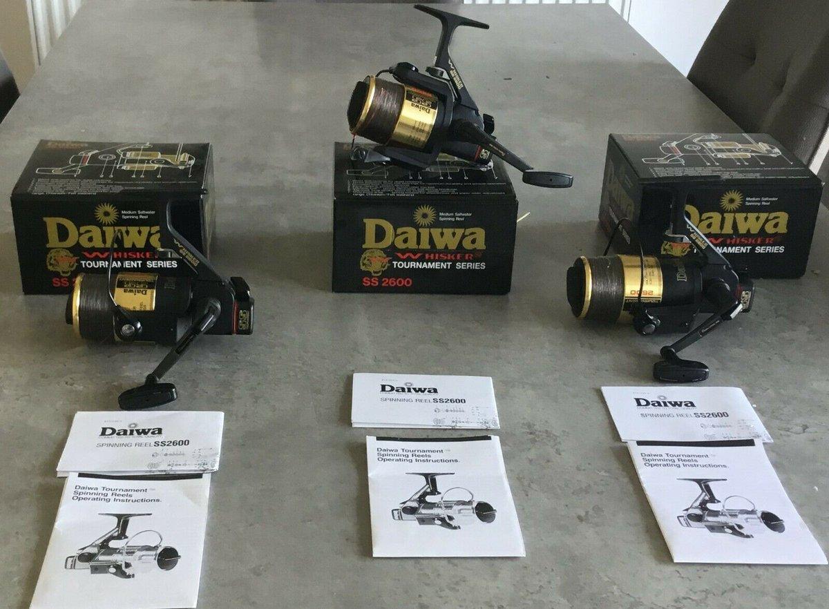 Ad - Daiwa Tournament Whisker SS2600 On eBay here -->> https://t.co/3wUCRzvNOo  #carpfishing #