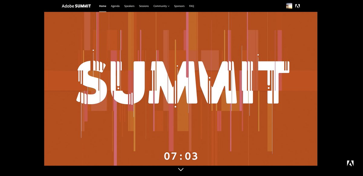 KDHungerford: Ready for the #AdobeSummit? The EMEA opening countdown has begun - complete with music, love it! #AdobeSummit https://t.co/sTnRH0FCyN