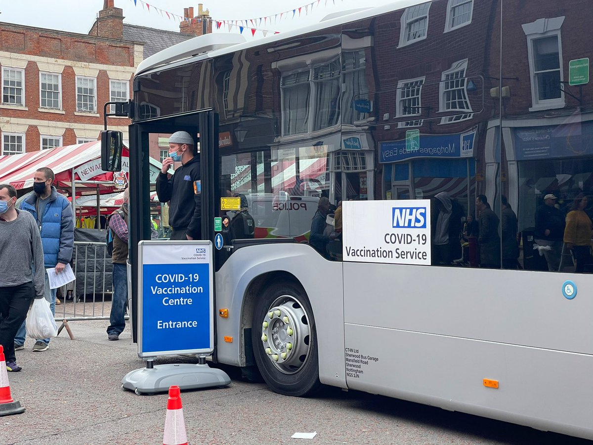 test Twitter Media - On @itvcalendar tonight @emmawilkitv reports on the #covid #bus in Newark, which is to help people get the vaccination and information on covid https://t.co/yTXc1zMaHo