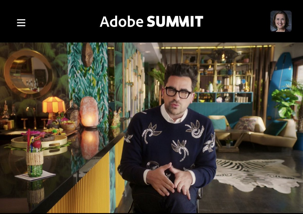 kfreberg: 👏🏻 @danjlevy at #AdobeSummit!!!nnPerfect host for SNEAKS! https://t.co/m4IYp6zB1Z