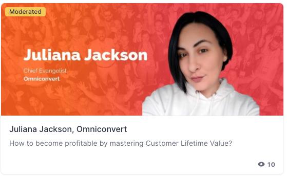 brentwpeterson: Getting ready to start @theclvlady talk on Mastering customer lifetime valuen#MAConnect #AdobeSummit nnVă mulțumim! https://t.co/hO9VjA9oze