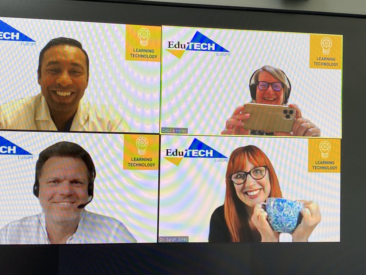 test Twitter Media - Informal chat about things VR as we wait to go live for our  ⁦@EdutechEurope⁩ panel with Beerend Hierck ⁦@AnandMed⁩ ⁦@VirtualSarahJ⁩ how have immersive technologies changed your practice? Do tweet and share with us! ⁦@N4LTH⁩ https://t.co/IED8P9VHMo