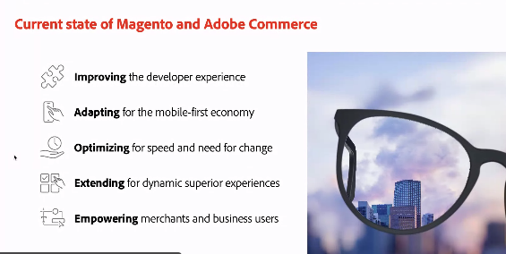 brentwpeterson: Magento is always helping to improve the developer experience nn@ericerwayn#MAConnect #AdobeSummit https://t.co/z2PwMjSwGl