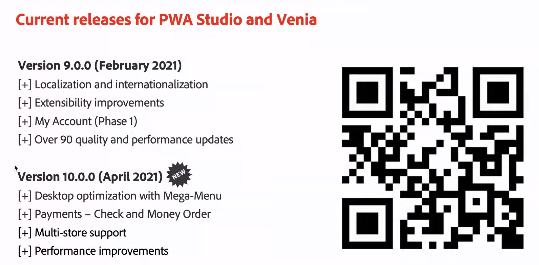 brentwpeterson: The current release schedule for PWA studion(Go ahead and retweet)nn@ericerwayn#MAConnect #AdobeSummit https://t.co/ynb99sEcHp