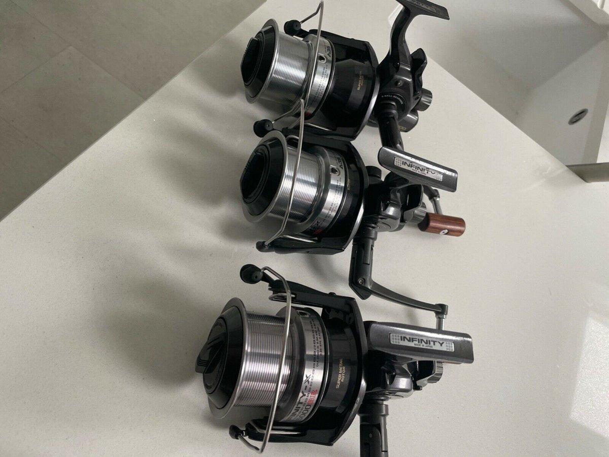 Ad - 3x Daiwa Infinity 5000 BR On eBay here -->> https://t.co/qJfQvbyboS  #carpfishing #fishin