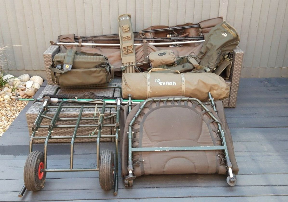 Ad - Full carp fishing set up for sale On eBay here -->> https://t.co/C4ZYv7H0pR  #carpfishing