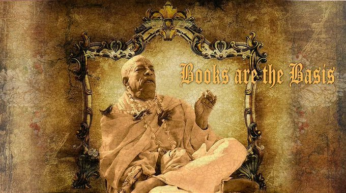 "[Interview] with H.G. Radhika Nagara Prabhu - Books are the Basis (video)""The books are just l...."