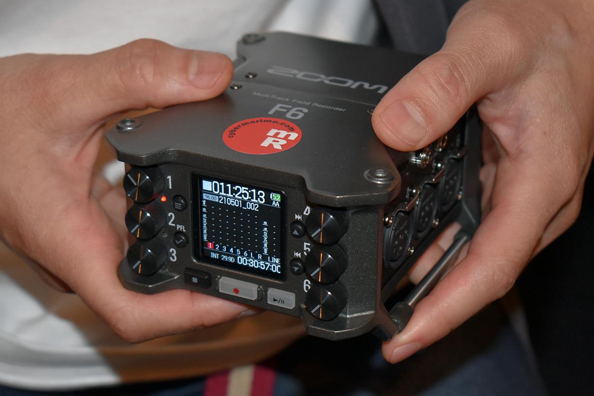test ツイッターメディア - レベル調整不要!? ZOOM「F6」の32bit Float録音が革命的なワケ【藤本健のDigital Audio Laboratory】 https://t.co/yNKj5GdNJo https://t.co/WmRO4x0ppf