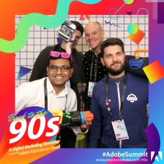 brentwpeterson: Already missing the #AdobeSummit and all the fun we had this year and two years ago.nn@vijayGolani @mbalparda https://t.co/mab7o8oAb8