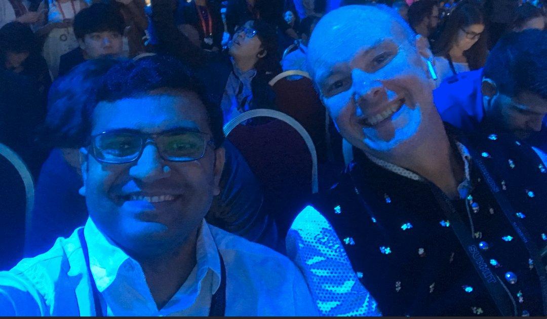 Vijaygolani: @brentwpeterson Hello @brentwpeterson n #AdobeSummit https://t.co/JXqMk1YHoQ